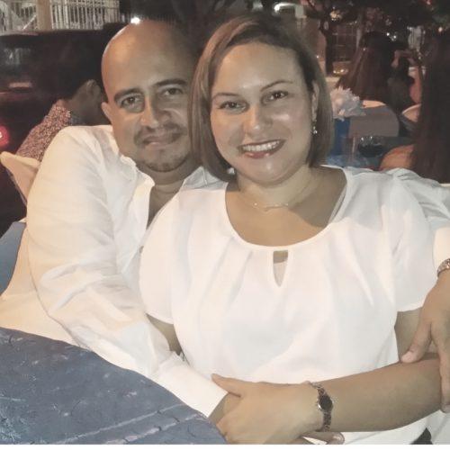 Jose Ariel y Blanca Luz